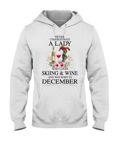 Skiing Wine Never Underestimate a Lady - December