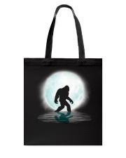 Bigfoot under the moon PT Tote Bag thumbnail
