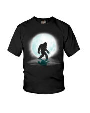 Bigfoot under the moon PT Youth T-Shirt thumbnail