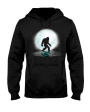 Bigfoot under the moon PT Hooded Sweatshirt front