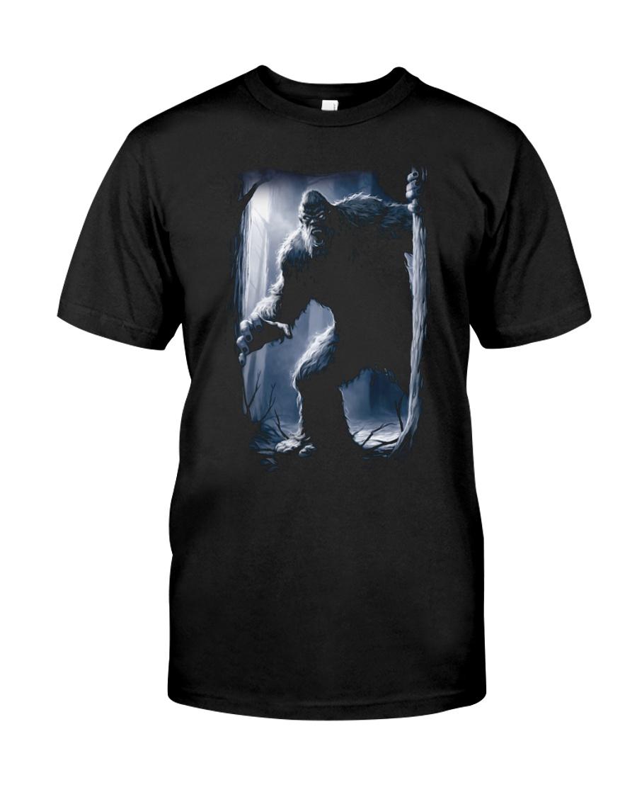 Bigfoot in the dark Classic T-Shirt