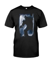 Bigfoot in the dark Classic T-Shirt front