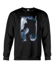 Bigfoot in the dark Crewneck Sweatshirt thumbnail