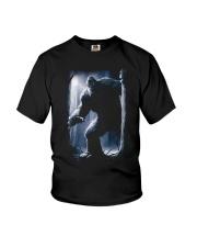 Bigfoot in the dark Youth T-Shirt thumbnail