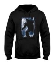 Bigfoot in the dark Hooded Sweatshirt thumbnail