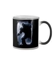 Bigfoot in the dark Color Changing Mug thumbnail