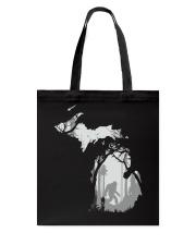 Michigan bigfoot - Year end sale Tote Bag thumbnail
