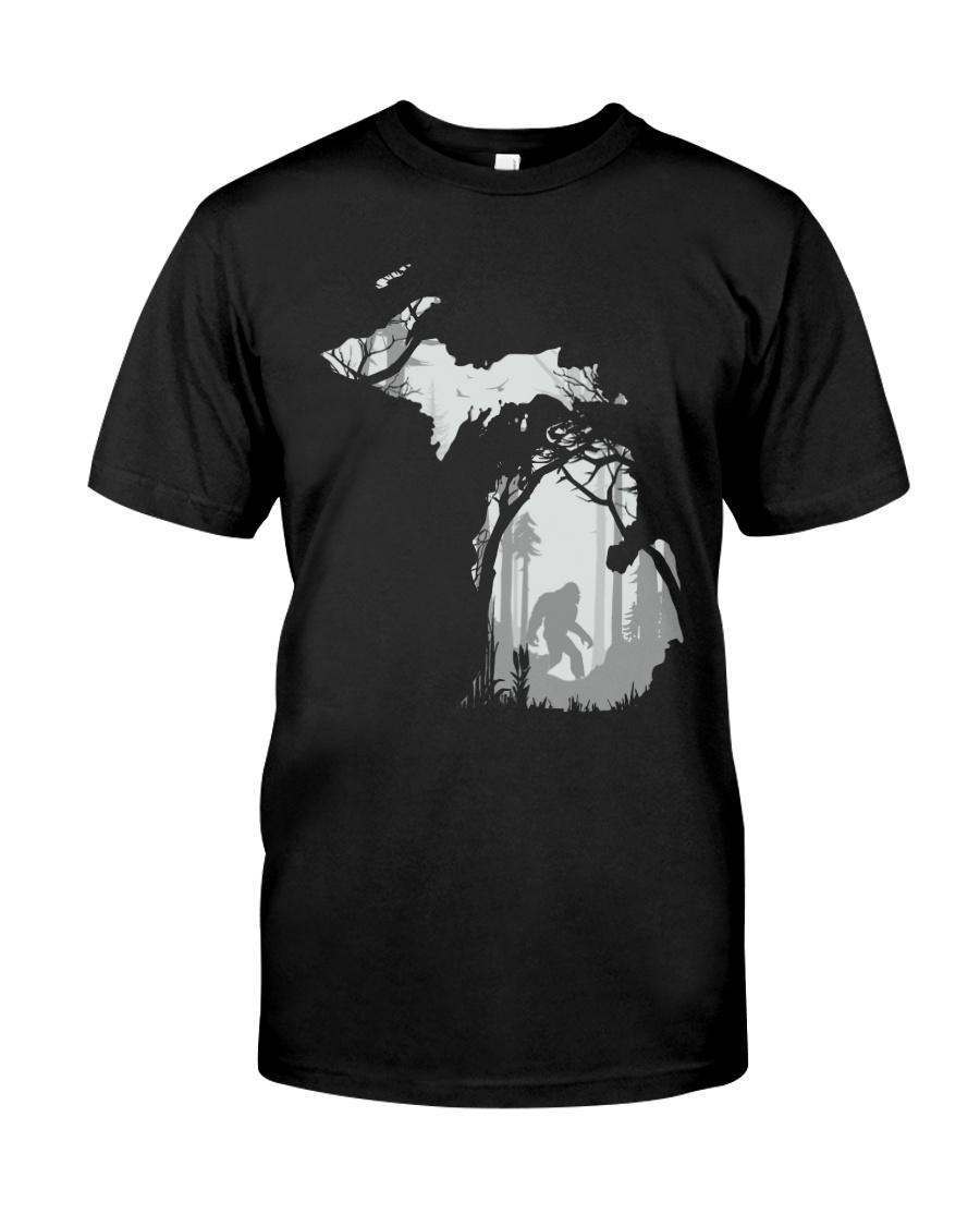 Michigan bigfoot - Year end sale Classic T-Shirt