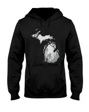 Michigan bigfoot - Year end sale Hooded Sweatshirt thumbnail