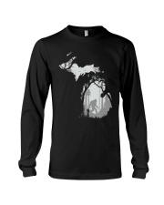 Michigan bigfoot - Year end sale Long Sleeve Tee thumbnail