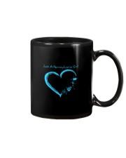 Just A Pennsylvania Girl Blue Mug thumbnail