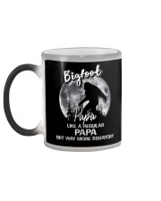 Mens Bigfoot Papa - Mug Color Changing Mug color-changing-left