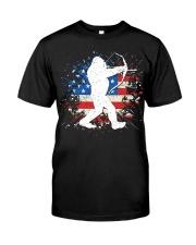 Bigfoot Hunting American Sasquatch Classic T-Shirt thumbnail