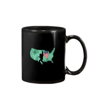 USA - Bigfoot Flag Mug thumbnail