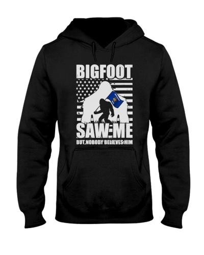 Bigfoot saw me but nobody believes him Wisconsin