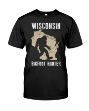 Wisconsin Bigfoot Hunter Classic T-Shirt tile
