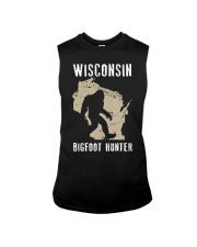 Wisconsin Bigfoot Hunter Sleeveless Tee thumbnail