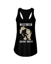 Wisconsin Bigfoot Hunter Ladies Flowy Tank thumbnail