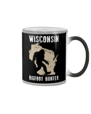 Wisconsin Bigfoot Hunter Color Changing Mug tile