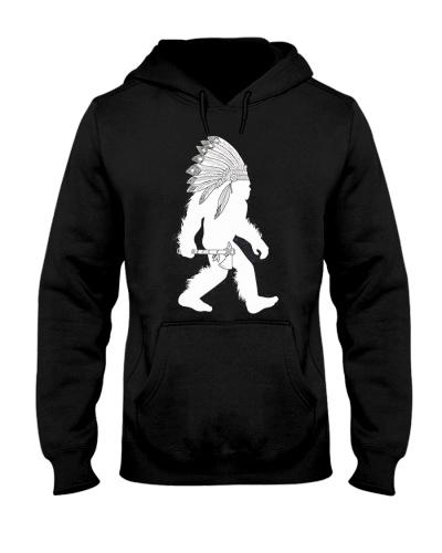 Native American Bigfoot Headdress