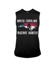 North Carolina Bigfoot Hunter Flag Sleeveless Tee thumbnail