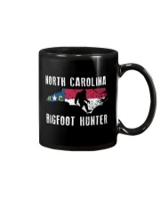 North Carolina Bigfoot Hunter Flag Mug thumbnail