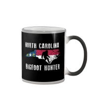 North Carolina Bigfoot Hunter Flag Color Changing Mug thumbnail