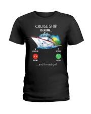 Cruise Ship Is Calling - Year end sale Ladies T-Shirt thumbnail
