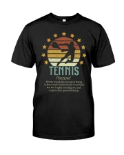 Tennis Dictionary Classic T-Shirt thumbnail