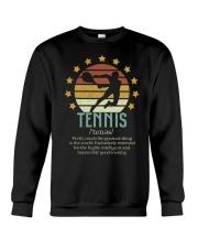 Tennis Dictionary Crewneck Sweatshirt thumbnail