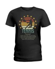 Tennis Dictionary Ladies T-Shirt thumbnail