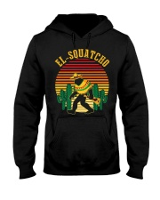 El Squatcho Bigfoot Sasquatch Hooded Sweatshirt front