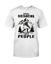 bigfoot distancing hate people Classic T-Shirt thumbnail