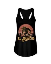Bigfoot el squatcho 3 Ladies Flowy Tank thumbnail