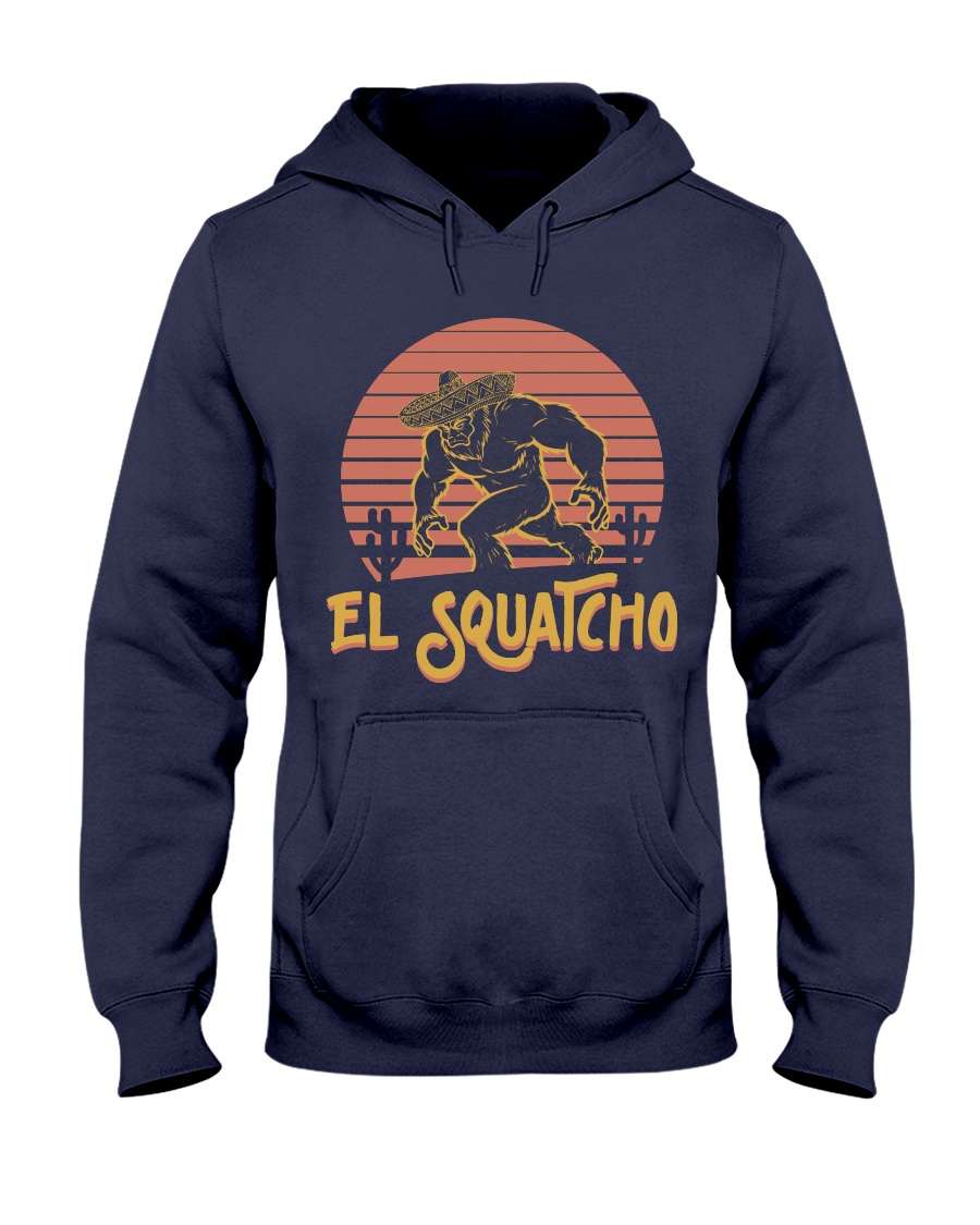Bigfoot el squatcho 3 Hooded Sweatshirt