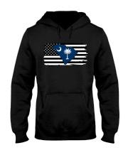 American and South Carolina map 9993 0037 Hooded Sweatshirt thumbnail