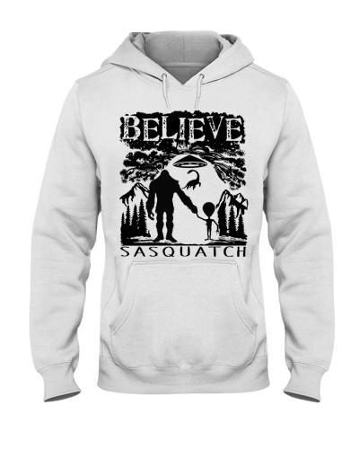 Bigfoot Alien Believe Sasquatch