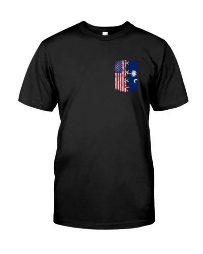 South Carolina and American flag 2s 0037