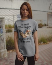 I Just Need More Horses 029 Classic T-Shirt apparel-classic-tshirt-lifestyle-18
