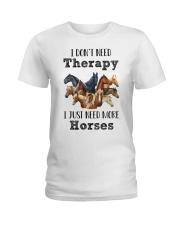 I Just Need More Horses 029 Ladies T-Shirt thumbnail