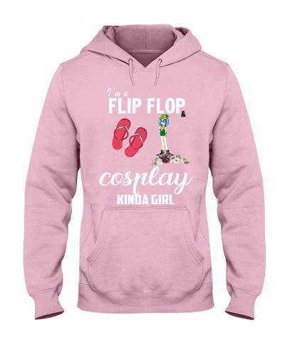 I'm a flip flops and Cosplay kinda girl