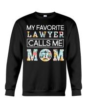 Lawyer Calls Me Mom Crewneck Sweatshirt thumbnail