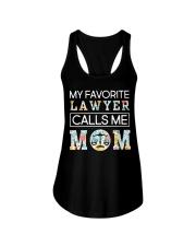 Lawyer Calls Me Mom Ladies Flowy Tank thumbnail