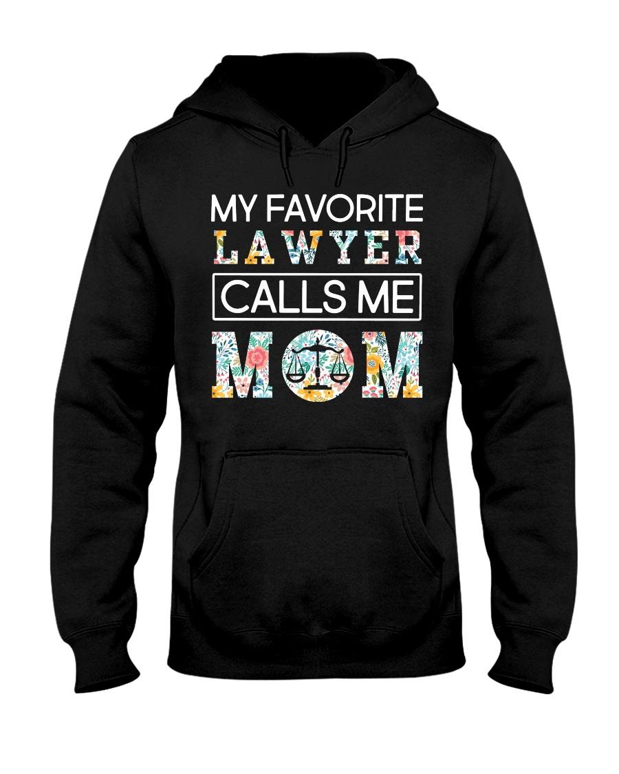Lawyer Calls Me Mom Hooded Sweatshirt