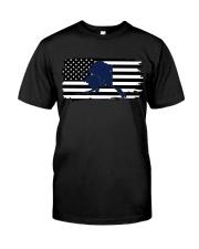 American and Alaska map 9993 0037 Classic T-Shirt thumbnail