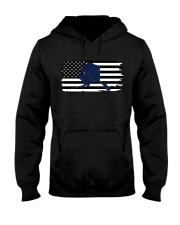 American and Alaska map 9993 0037 Hooded Sweatshirt thumbnail