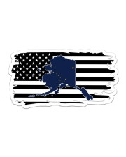 American and Alaska map 9993 0037 Sticker tile