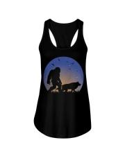 Bigfoot-Wolf Ladies Flowy Tank thumbnail