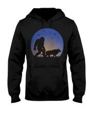 Bigfoot-Wolf Hooded Sweatshirt front