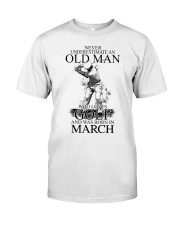 Never underestimate a man loves golf - March Classic T-Shirt thumbnail